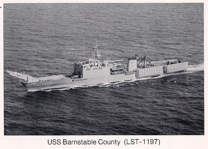Uss Barnstable County Lst 1197